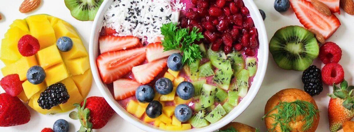 jadłospis tygodniowym, na tydzień, owoce