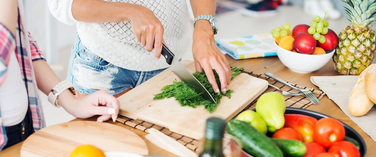 wspólne gotowanie zdrowe